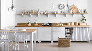 etageres de cuisine les étagères ouvertes dans la cuisine pour ou contre