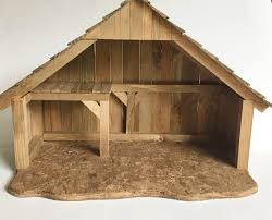 Vintage Wood Stable Nativity Creche Wooden Christmas Decor ... Was Jesus Really Born In A Stable Nativity Scene Pictures Hut With Ladder And Barn Online Sales On Holyartcom Scenes Nativity Sets Manger Display Yonderstar Handmade Wooden Opas Scene Christmas Set Outdoor Manger Family Wooden Setting House Red Roof Trough 2235x18 Cm For Vintage Wood Creche Religious Amazoncom Fontani 5 54628 Stable Fountain 28x42x18cm Fireplace 350x24 Bungalow Like Neapolitan 237x29cm