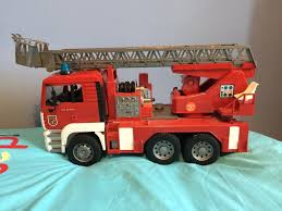 Red 'Bruder' Fire Engine   In Ballymena, County Antrim   Gumtree Jual Produk Bruder Terbaik Terbaru Lazadacoid Harga Toys 2532 Mercedes Benz Sprinter Fire Engine With Mack Deluxe Toy Truck 1910133829 Man 02771 Jadrem Engine Scania Ab Car Prtrange Fire Truck 1000 Bruder Fire Truck Mack Youtube With Water Pump Cullens Babyland Pyland Mb W Slewing Ladder In The Rain