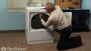 dryer repair replacing the light bulb whirlpool part 67001316