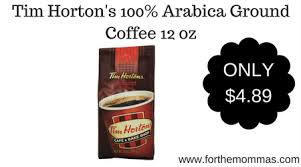 Tim Hortons 100 Arabica Ground Coffee 12 Oz 489 Shipped