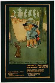 Harrow Christmas Tree Collection by Infonetorg London Vintage Underground Posters