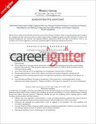 Resume Profile Examples Australia And Unique Accounting With Additional Administrative Assistant Sample Career