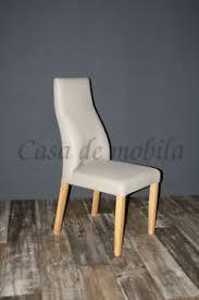 details zu polsterstuhl leder beige gestell buche massiv geölt küchen stuhl eßzimmer stühle