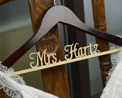 Personalized Rustic Wedding Dress Hanger New Tech Bride Bridesmaid Wood Name Custom Bridal Shower Gift CM001