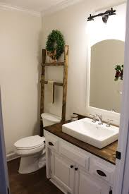 Bud Friendly Modern Farmhouse Half Bathroom Renovation