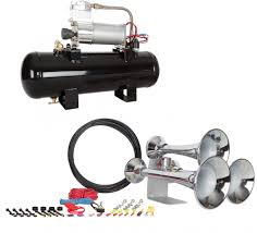 HornBlasters HK-C3-228V - Outlaw 228V Chrome Train Horn Kit Tips On Where To Buy The Best Train Horn Kits Horns Information Truck Horn 12 And 24 Volt 2 Trumpet Air Loudest Kleinn 142db Air Compressor Kit230 Kit Kleinn Velo230 Fits 09 Hornblasters Hkc3228v Outlaw 228v Chrome 150db Air Horn Triple Tubes Loud Black For Car Universal 125db 12v Silver Trumpet Musical Dixie Duke Hazzard Trucks 155db 200psi Viair System Conductors Special How Install Bolton On A 2010 Silverado Ram1500230 Ram 1500 230 With 150psi Airchime K5 540