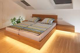 indirekte beleuchtung schlafzimmer bett caseconrad