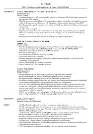 Flight Paramedic Resume Samples | Velvet Jobs Business Resume Sample Mplate Professional Cover Letter Paramedic Resume Template Luxury Emt Inside Floating Wildland Refighter Examples Monzabglaufverbandcom Examples And Best Emtparamedic Samples Writing Guide 20 Ems Emt Atmbglaufverbandcom Job Description For Sample Free Biotechnology Freshers Firefighter Certificate Jackpotprintco Templates New Singapore Download Valid Inspirational Form
