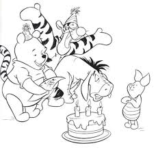 Disney Birthday Coloring Sheets Printable 19 Happy