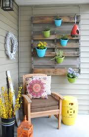 Vertical Container Gardening Porch Patio Wooden Pallet Plastic