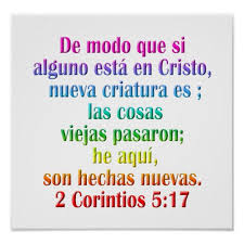 2 Corinthians 517 Spanish Poster