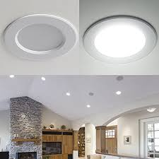 Living Room Brilliant Retrofit Led Can Lights For 5 To 6 Fixtures