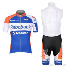New Team Rabobank Cycling Jersey Cycling Clothing Summer Short