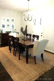 Area Rug For Dining Room Table Carpet Under Dining Room Table Area