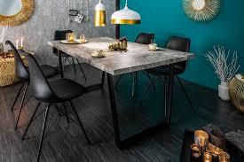 design esstisch loft 160cm beton optik mit kaufland de