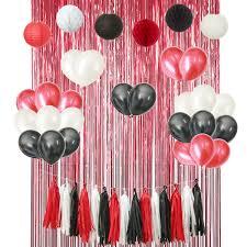 Amazoncom Mickey Mouse 46PCS Red Black White Birthday Wedding