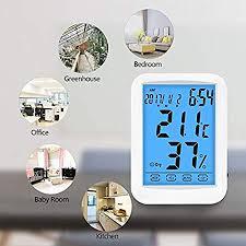 digitales thermometer hygrometer inne luftfeuchtigkeit
