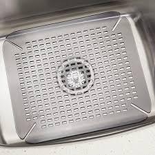 Sink Protector Mat Ikea by Amazon Com Interdesign Contour Kitchen Sink Protector Mat
