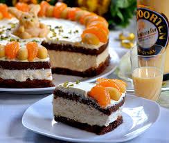 ostertorte mit verpoorten quark torte mit mandarinen