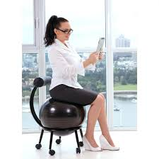 Stability Ball Desk Chair by Desk Chairs Yoga Ball Desk Chair Color Stability Office With