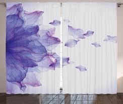 gardine schlafzimmer kräuselband vorhang mit schlaufen und haken abakuhaus blume abstrakt modern wasser kaufen otto