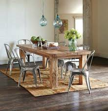 Modern Rustic Dining Room Sets Medium Size Of Decor With Good