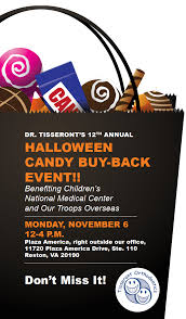 Donate Leftover Halloween Candy To Our Troops by 12th Annual Halloween Candy Buy Back Event In Reston With Dr