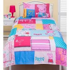 Every Little Girl Will Love Climbing Into Bed With Her Favourite Character Pig Made From Soft Polyester Cotton The Eye Catching Design Of This Peppa