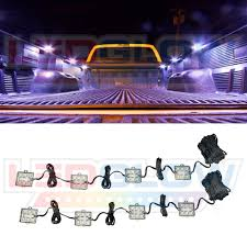 NEW! 8PC TRUCK BED LED LIGHTING KIT SYSTEM W 48 WHITE LEDs - LU-TB-1 ... Undcover Ultra Flex Truck Bed Cover 42018 Gmc Sierra 1500 66 Tacoma Rack Active Cargo System For Long 2016 Toyota Trucks Under Led Lighting Interior Designs Ideas Aprivateaffairus Nissan Utilitrack Usa Bed Lights My First Mod World Robin Electronics Ford Fseries Tenth Generation Wikipedia 8pcs White Pick Up Rear Work Box Led Pods Ram Stowe Systems Management Lights Amazoncom Adarac Alinum Alterations
