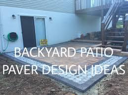 Patio Paver Ideas Houzz by Walkout Basement Backyard Patio Paver Design Ideas Ryan U0027s