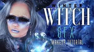 Bonnie Springs Halloween 2017 by Scarred Winter Witch Sfx Makeup Tutorial Easy How To For