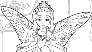 Home Sofia The First Princess Amber Coloring Page