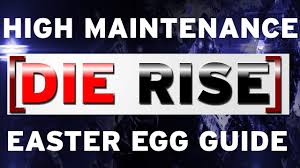 die rise easter egg guide black ops 2 zombies