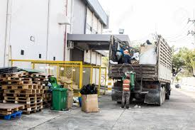 Waste Management, The Garbage Truck With Worker Stock Photo, Picture ...
