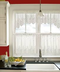 Amazon Lace Kitchen Curtains by 55 Best Lace Curtains Ready Made Valances And Tiers Images On
