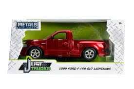 Jada Diecast Metal 1:24 Scale Just Trucks 1999 Ford F-150 SVT ...