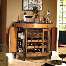 Small Corner Bar Furniture Basement Cabinet R