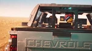 100 Chevy Truck Commercial Silverado Gets Bricked In Cheeky Lego Movie 2 Ad