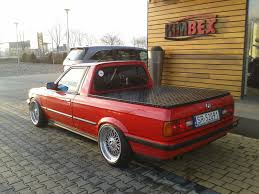 100 E30 Truck BMW Pick Up Real Or No Real Retro Rides