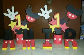 Diy Mickey Mouse Birthday Party Decorations Image Inspiration of