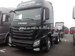 China New Hyundai 440 And 520 HP 6X4 Tractor Truck With Engine Brake ...