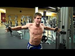 Pec Deck Flye Alternative by How To High Cable Chest Fly Youtube
