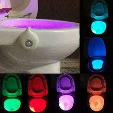 beleuchtung 8 color wc licht led bewegungsmelder
