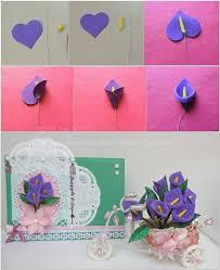 DIY Foam Sheet Cards Flower Craft Idea Step By
