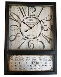 wanduhr kensington kalender gross wohnzimmer design