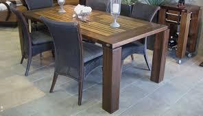 table de cuisine en bois massif tables en bois massif signature stéphane dion