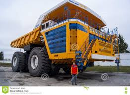 100 Largest Dump Truck Worlds Huge BelAZ With Man For Scale