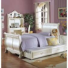 sleigh bed trundle
