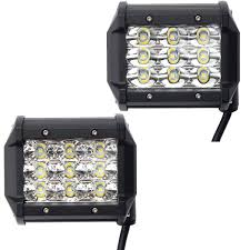 4 Inch 54W LED Flood Beam Car Off Road Truck Work Light DC 10-30V ... Turbosii Pair 7 Inch Led Light Bar Off Road Driving Fog Lights Super 10w Roundsquare Spotflood Beam Led Work For Car Motorcycle Land Rover Defender Offroad Truck 4x4 27w Round Spot Lightfox 20 Inch 126w Cree 4wd Flood 4 54w Flood Dc 1030v 172056 Lamp 2 Cree For Dicn 1 5in 45w Floodlights 45w Working 1pcs 5inch 18w Pod 2pcs 27w Tractor Boat